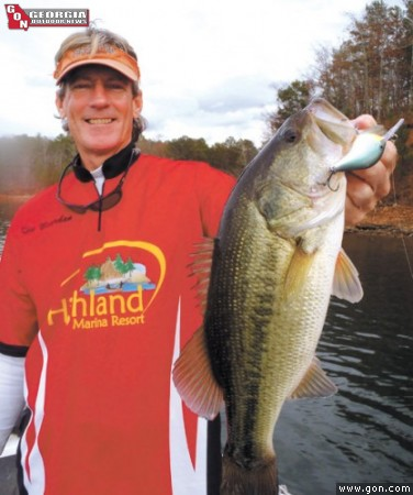 Winter bass on west point for West point lake fishing report